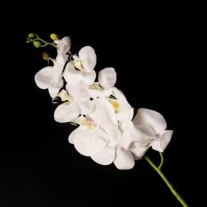 Орхідея силіконова (колір  молочний ) 92724