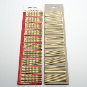 """Невидимки """"нержавіюча сталь"""" 100 шт. (д. 5.5 см.) 5-7554"""