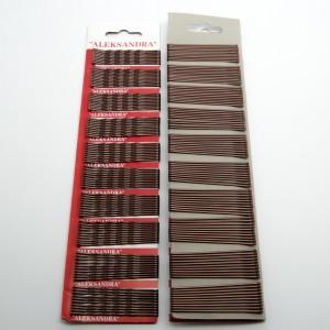 """Невидимки """"нержавіюча сталь"""" 100 шт. (д. 5.8 см.) 5-7552"""
