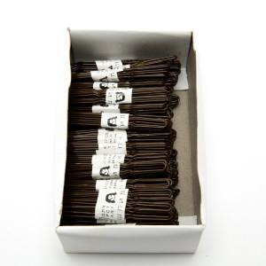 """Шпильки звичайні """"коричнева"""" (д. 6 см.) 91445"""