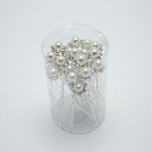 Шпильки з камінням (7 х 1.3 см.) 90665
