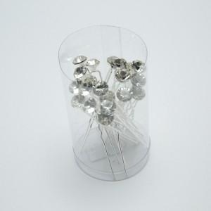 Шпильки з камінням (7 х 0.9 см.) 90661