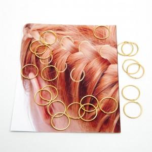 Пірсинг для волосся 20 шт. (Ø 1.4 см.) 5-9078