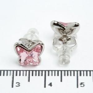 """Сережки XUPING Silver """"розовий"""" 511688"""