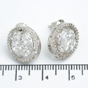 Сережки XUPING Silver (1.3 х 1.5 см.) 511541