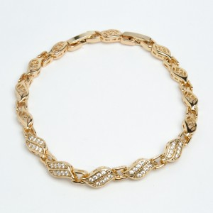 Браслет XUPING Gold (17 + 1.6 х 0.6 см.) 511842