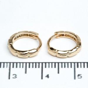 Сережки XUPING Gold (Ø 1.1 см.) 511954