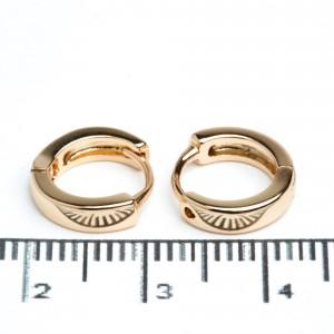 Сережки XUPING Gold (Ø 1 см.) 511953