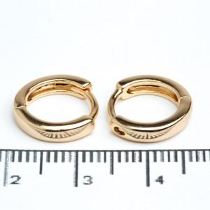 Сережки XUPING Gold (Ø 1.2 см.) 511952