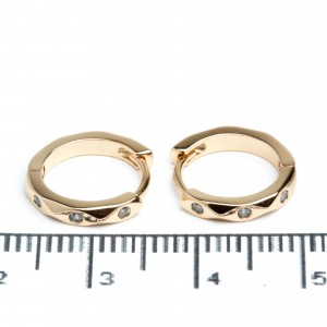 Сережки XUPING Gold (Ø 1.3 см.) 511951