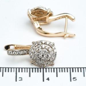 Сережки XUPING Gold 511944