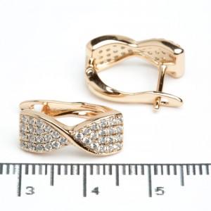 Сережки XUPING Gold 511788