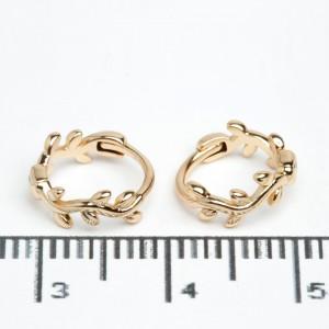 "Сережки XUPING Gold ""Ø 1 см."" 511787"
