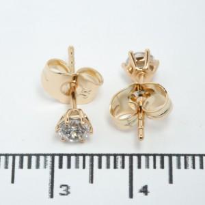 "Сережки XUPING Gold ""Ø 0.5 см."" 511576"