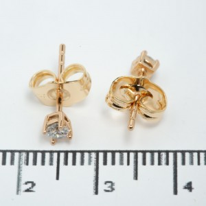 "Сережки XUPING Gold ""Ø 0.3 см."" 511575"