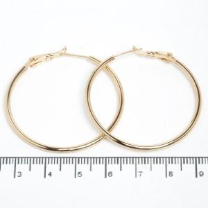 "Сережки XUPING Gold ""Ø 4 см."" 511565"