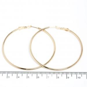"Сережки XUPING Gold ""Ø 5.5 см."" 511562"