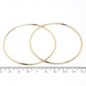 "Сережки XUPING Gold ""Ø 6 см."" 511560"