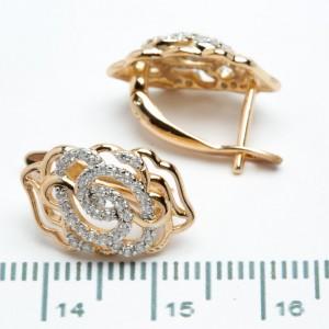 Сережки XUPING Gold 511132