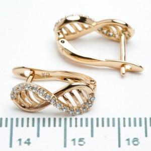 Сережки XUPING Gold 511131