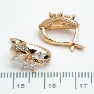 Сережки XUPING Gold 511012