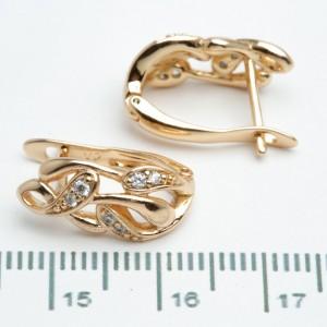 Сережки XUPING Gold 511007
