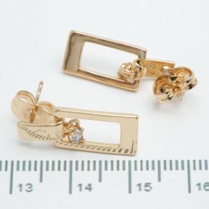 Сережки XUPING Gold 510947