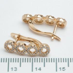 Сережки XUPING Gold 510944