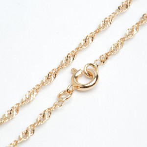Цепочка XUPING GOLD (45 х 0.3 см.) 512308