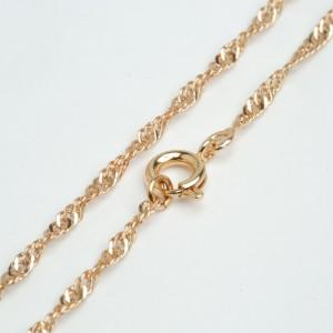 Цепочка XUPING GOLD (59 х 0.2 см.) 512301