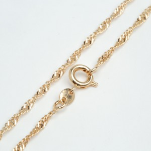 Цепочка XUPING GOLD (45 х 0.2 см.) 512299