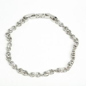 Браслет XUPING Silver (18.5 + 1.7 х 0.5 см.) 205675