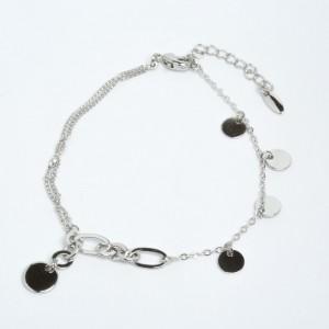 Браслет XUPING Silver (17.5 + 3.5 см.) 205531