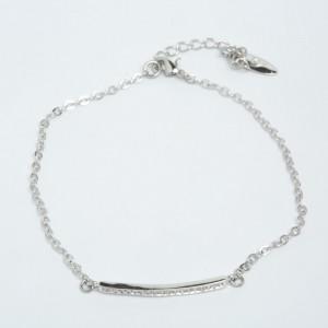 Браслет XUPING Silver (19 +4 х 0.3 см.) 205528