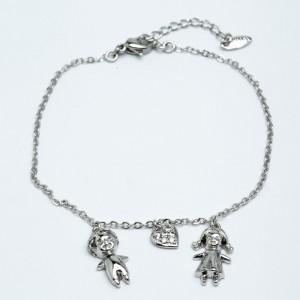 Браслет XUPING Silver (18 + 3 см.) 205327