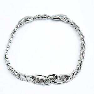 Браслет XUPING Silver (17.5 + 3.2 x 0.6 см.) 205318