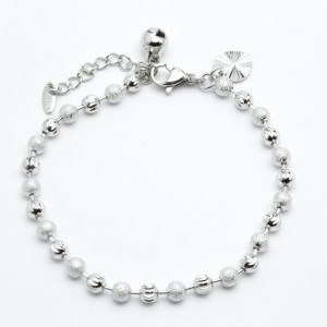 Браслет XUPING Silver (27 + 3 x 0.4 см.) 205243