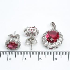 """Набори XUPING Silver """"малиновий"""" 205560"""