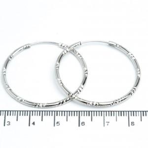 Сережки XUPING Silver (Ø 3.5 см.) 205657