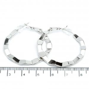 Сережки XUPING Silver (Ø 3.5 см.) 205656
