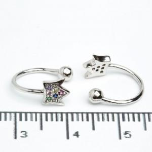 Сережки XUPING Silver 205600