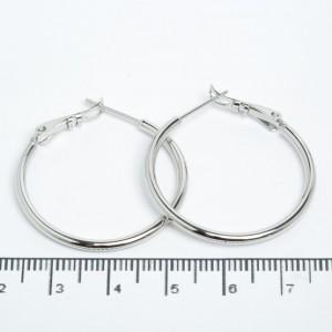 Сережки XUPING Silver (Ø 3 см.) 205525