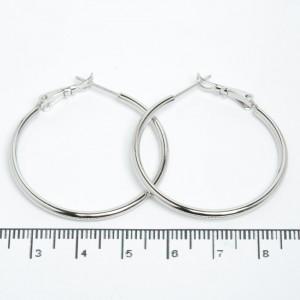 Сережки XUPING Silver (Ø 3.6 см.) 205521