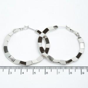 Сережки XUPING Silver (Ø 4 см.) 205520