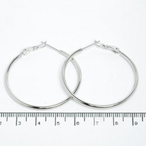 Сережки XUPING Silver (Ø 4 см.) 205519