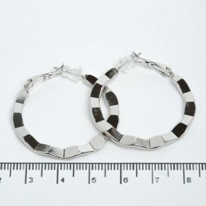 Сережки XUPING Silver (Ø 3.4 см.) 205516