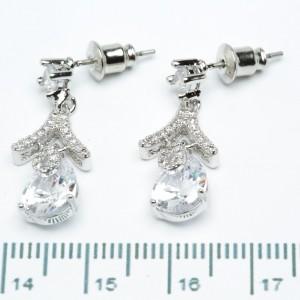 Сережки XUPING Silver (2.5 х 1.1 см.) 205376