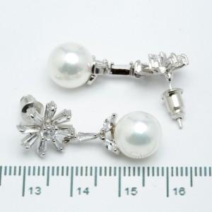 Сережки XUPING Silver (3.2 х 1.2 см.) 205367