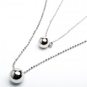 Цепочки з кулоном XUPING Silver (49 + 5 см.) 205308