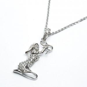 Цепочки з кулоном XUPING Silver (44 + 3 х 0.2 см.) 205305